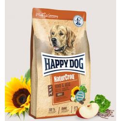 Happy Dog NaturCroq Wołowina i ryż 15kg