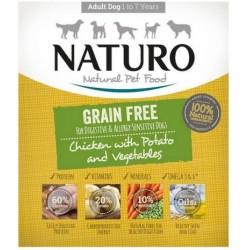 Naturo Grain Free 150g Kurczak ziemniak warzywa dla psa