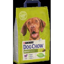 PURINA DOG CHOW - Jagnięcina z ryżem 2,5kg