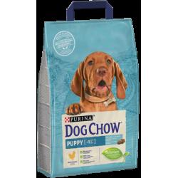 PURINA DOG CHOW - Puppy z kurczakiem 2,5kg