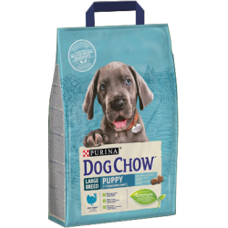 PURINA DOG CHOW - Puppy Large breed 2,5kg