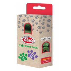 Woreczki BIOdegradowalne na psie odchody - 4 x 20 torebek