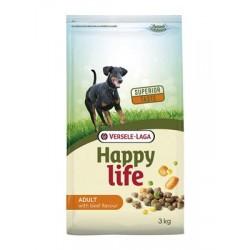 Versele laga Happy Life 15kg Karma sucha z wołowiną