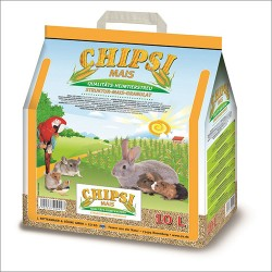 Cats Best CHIPSI MAIS Granulat kukurydziany dla gryzoni, królików, ptaków 10 L
