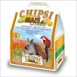 Cats Best CHIPSI MAIS Citrus Granulat kukurydziany dla gryzoni, królików, ptaków 10 L