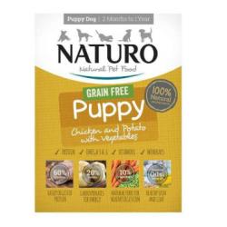 Naturo 150g Puppy Kurczak z ziemniakami i warzywami dla psa