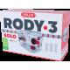 ZOLUX Klatka SOLO Rody3- Czerwona / przezroczysta