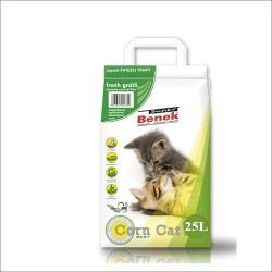 Benek Corn Cat Świeża trawa 25l - zbrylający
