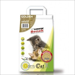 Benek Corn Cat GOLDEN 7l - zbrylający żwirek kukurydziany