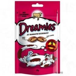 Dreamies z wołowiną 60g - snaki dla kota
