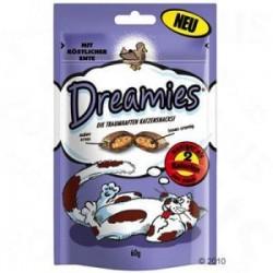 Dreamies z kaczką 60g - snaki dla kota