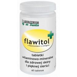 Flawitol dla psów zdrowa skóra i piękna sierść (tabletki) - 60 szt