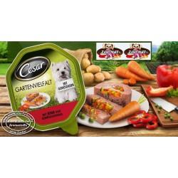 CESAR Gartenvielfalt 150g - Wołowina z warzywami