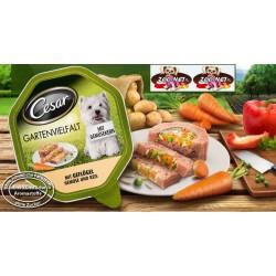 CESAR Gartenvielfalt 150g - Drób z warzywami i ryżem