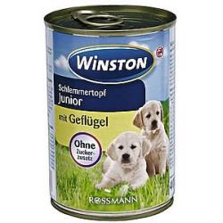 Winston 400g Junior z drobiem dla psa