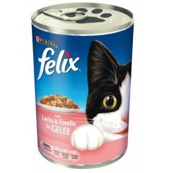 Felix 400g - łosoś z pstrągiem w galarecie