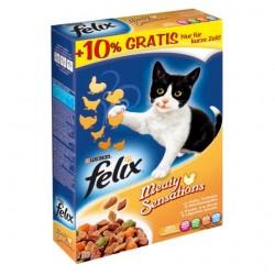 FELIX 1 KG MEATY SENSATIONS Z DROBIEM