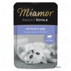 Miamor Ragout Royale Kitten 100g z wołowiną