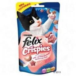 Felix Crispies 45g- Przysmak z łososiem i pstrągiem