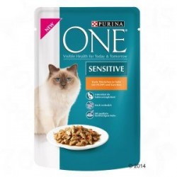 Purina One saszetka 85g Sensitive