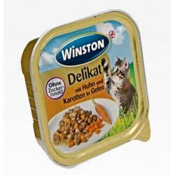 Winston Adult 100g Delikat- Kurczak z marchewką w galarecie