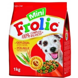 Frolic mini z drób i marchewką 1kg