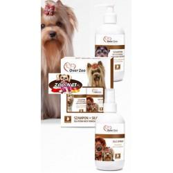 Over Zoo Szampon + Silk Spray dla Psów Yorkshire Terrier