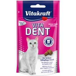 VITAKRAFT VITA DENT - Ciastka na zęby dla kotów 75g